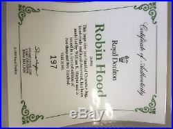 Royal Doulton Character Jug Large Robin Hood D6998