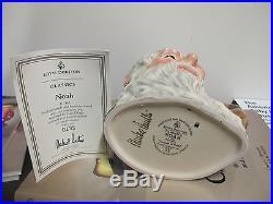 Royal Doulton Character Jug Noah D7165 Large signed by Michael Doulton