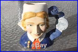 Royal Doulton Character Jug Nurse D7216 SAMPLE PIECE! CASDAY RARE