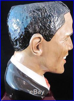 Royal Doulton Character Jug President Barack Obama D7300 MIB