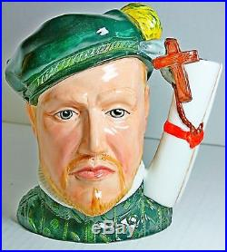 Royal Doulton Character Jug Prince Philip Of Spain D7189 Box & COA Limited 737