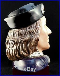 Royal Doulton Character Jug Richard III D7099