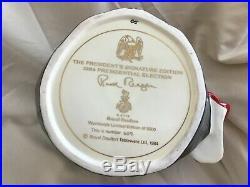 Royal Doulton Character Jug Ronald Reagan D6718 withBox COA #609 7 3/4