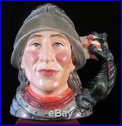 Royal Doulton Character Jug St. George D7129 Style Two