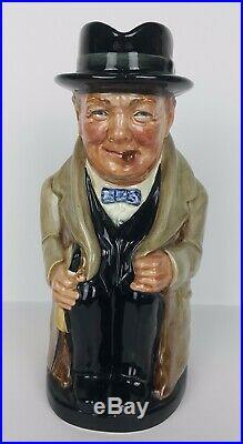 Royal Doulton Character Jug Winston Churchill D6171