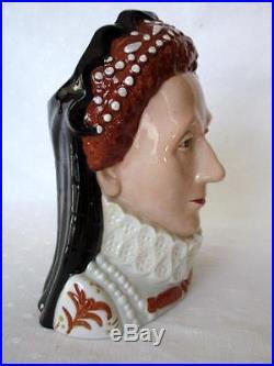 Royal Doulton Classics Toby Mug Jug Queen Elizabeth I D7180 MIB Limited Signed