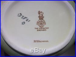 Royal Doulton Cotswold Shepherd Fancy Shaped Jug Very Rare Scene Pattern D5561