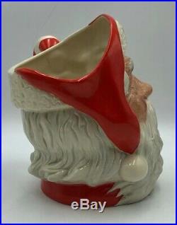 Royal Doulton D6793 CANDY CANE Handle SANTA Toby Jug Rare Ltd to 1000