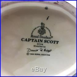 Royal Doulton D7116 CAPTAIN SCOTT Large Character Jug Excellent Condition