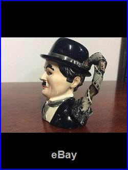 Royal Doulton D7145 Charlie Chaplin Small Character Jug