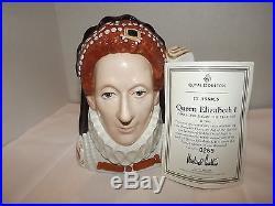 Royal Doulton D7180 Queen Elizabeth I Character Jug Toby