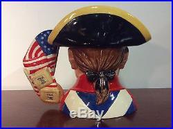 Royal Doulton D7265 Revolutionary War Character Jug U. S. Wars Collection
