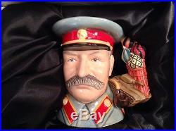 Royal Doulton D7284 Joseph Stalin Large Character Jug 95/100
