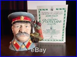 Royal Doulton D7284 Joseph Stalin Large Character Jug Ltd Edition