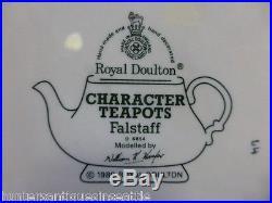 Royal Doulton Falstaff Large Toby Jug D-6855 6.5 Misprint