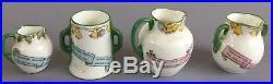 Royal Doulton Father Christmas Santa Claus Miniature Vase Jug