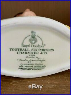 Royal Doulton Football Supporters Jug! Tottenham Hotspur! D6960! Very Rare