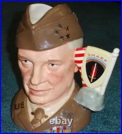 Royal Doulton GENERAL EISENHOWER Character Jug / c. 1993 Harper / Museum Quality