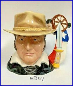 Royal Doulton Jim Bowie D7291 Limited Edition 100 Character Jug