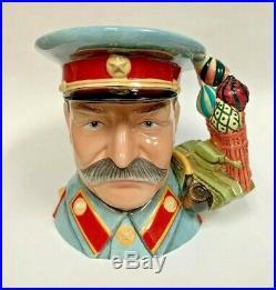 Royal Doulton Joseph Stalin D7284 Character Jug Limited Edition 100
