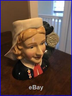 Royal Doulton Jug International Collectors Club Nurse. Medium Size
