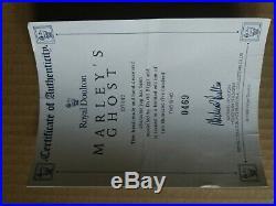 Royal Doulton Jug Marley's Ghost D7142 Limited Edition & Rare 469/2500