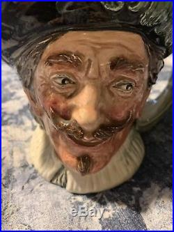 Royal Doulton Jug THE CAVALIER with Goatee D6114