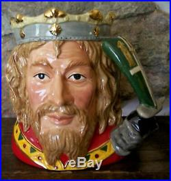 Royal Doulton King Arthur toby jug mug D7055 LARGE SIZE 7 LIMITED EDITION MINT