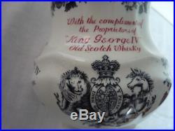 Royal Doulton King George IV Scotch Whisky Memorium Jug