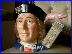 Royal Doulton King Richard III Large Character Toby Jug D7099 Limited Edition