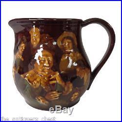 Royal Doulton Kingsware Memories 18th C Whisky Water Pitcher Jug8
