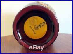 Royal Doulton Kingsware Richard Arkwright Dewars Whisky Flask Jug Spinning Frame