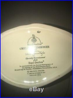 Royal Doulton Large Character Jug Chelsea Pensioner D6933 #111 Ltd. Ed. Of 250