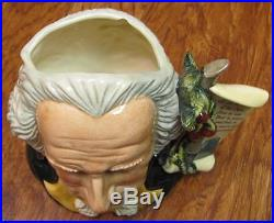Royal Doulton Large Character Jug George Washington D6965 Ltd Ed #438 / 2500