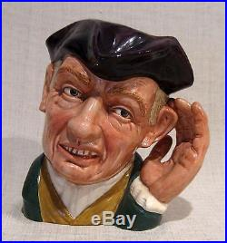 Royal Doulton Large Mug Jug Ard of Hearing D6588
