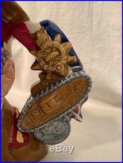 Royal Doulton Large Toby Character Jug General Haig D 7231 #32 out of 100 Rare