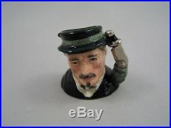 Royal Doulton Limited Edition Sherlock Holmes Miniature Character Jugs Set