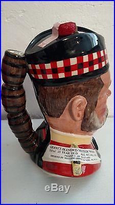 Royal Doulton Liquor Character Jug William Gran Mint Condition With Original Box