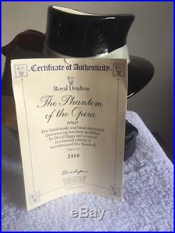 Royal Doulton Ltd Ed Character Jug Phantom Of The Opera