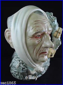 Royal Doulton Ltd. Edition Large Character Jug Marley's Ghost D 7142