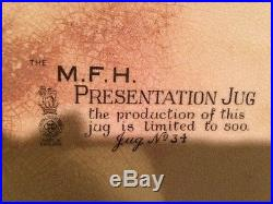 Royal Doulton M. F. H Presentation Jug