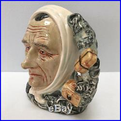 Royal Doulton Marley's Ghost Character Jug D7142 Dickens Characters Limited Ed