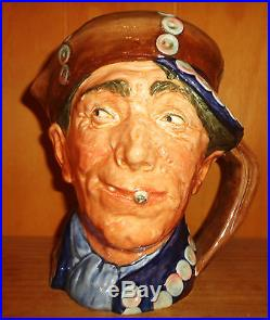 Royal Doulton Pearly Boy Large Size Character Jug (Var 1) Rare 1947 Only Mint
