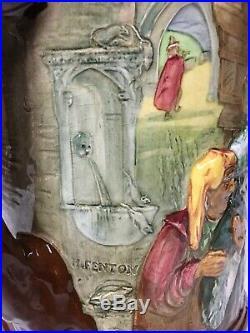Royal Doulton Pied Piper Jug Limited edition circa 1934 10 tall VERY RARE