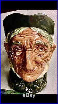 Royal Doulton RARE Toothless &Tanned GRANNY 6.25 Character Jug D5521 1935-1941