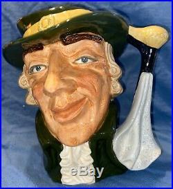 Royal Doulton Rare Large Size Regency Beau Character Toby Jug D6559 Mint