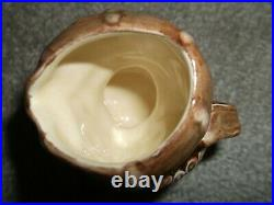 Royal Doulton Rare Pearly Boy Mini jug with pearl white buttons