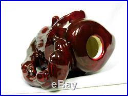 Royal Doulton RipVanWinkle Color Sample Toby Jug Red/Brown flambe like prototype