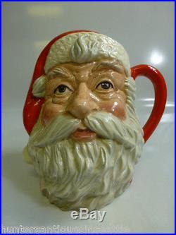 Royal Doulton Santa Claus Large Toby Jug D-6704 7.5'' Style Four