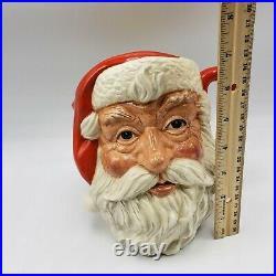 Royal Doulton Santa Claus Pitcher D6704 Jug 1983 Michael Adderley Numbered 7